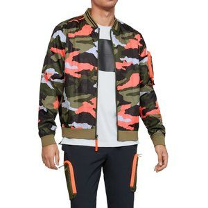 🆕Under Armour Unstoppable Print Bomber Jacket